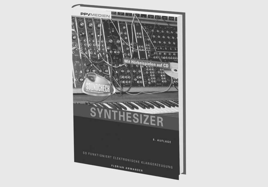 picture of the synthesizer related book Synthesizer by Florian Anwander
